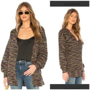 NWT Tularosa Clementine tweed cardigan sweater